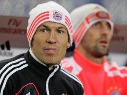 Eine leichte Erkältung sorgte für Schonung in Hamburg, gegen Lille soll Arjen Robben wieder flitzen.