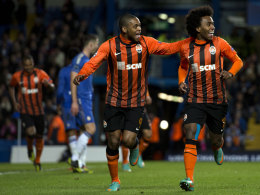 Willian und Luiz Adriano