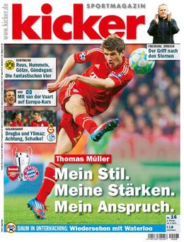 Die aktuelle Ausgabe des kicker sportmagazin vom 18.02.2013