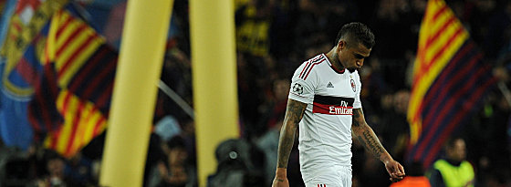 Milans Kevin-Prince Boateng.