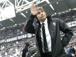 Rechnet mit einem Hexenkessel: Juve-Coach Antonio Conte.