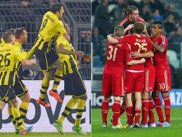 Dortmund und Bayern jubeln in der Champions League