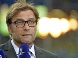 """Jürgen Klopp war vom Götze-Abschied erst """"weggedonnert"""", freut sich aber schon auf neue Spieler."""