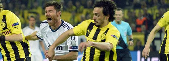 Mats Hummels gegen Xabi Alonso
