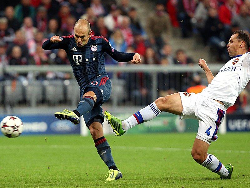 Arjen Robben gegen Sergey Ignashevich
