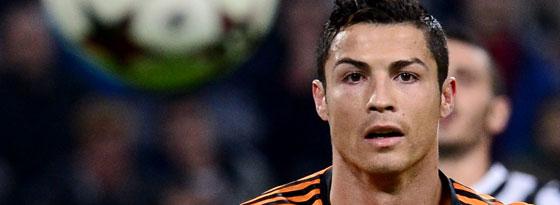 Ronaldo glich für Real bei Juventus zum 1:1 aus - der achte Treffer für den Portugiesen.