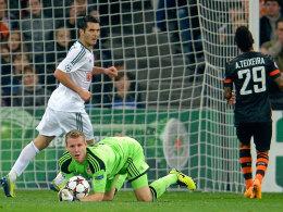 Unter Dauerstress: Leverkusens Keeper Leno.