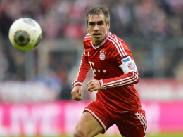 Reicht's bis Dienstagabend? Bayerns Kapitän Philipp Lahm trainiert wieder.
