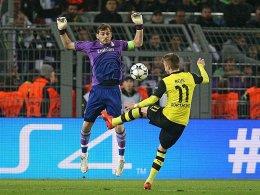 Marco Reus gegen Iker Casillas