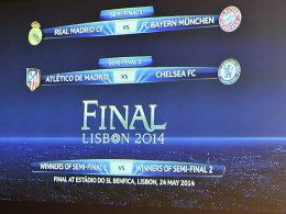 Das verspricht Spannung: München fährt zunächst nach Madrid.
