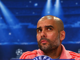 Bayern-Trainer Pep Guardiola