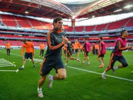 Geben alles, um für das Finale fit zu sein: Gareth Bale und Cristiano Ronaldo.