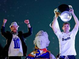 Sergio Ramos, Göttin Kybele und Iker Casillas