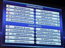 In Nyon ging heute die Auslosung der Champions-League-Play-offs über die Bühne.