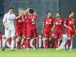 Gef�hlswelten: W�hrend Kopenhagens Thomas Delaney bedr�ppelt aus der W�sche schaut, jubeln die Leverkusener.