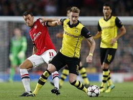 Mesut Özil und Marco Reus