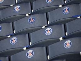 Leere Sitze im Pariser Prinzenpark: Kein Muss im CL-Spiel gegen Barça.
