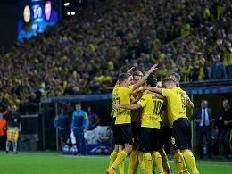 Der BVB feiert gegen Arsenal den ersten Dreier