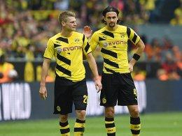 Die Champions League wartet: Lukasz Piszczek und Neven Subotic (re.).