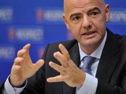 UEFA-Generalsekretär Gianni Infantino