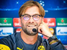 War gewohnt schlagfertig: J�rgen Klopp lobte auf der Pressekonferenz den RSC Anderlecht.
