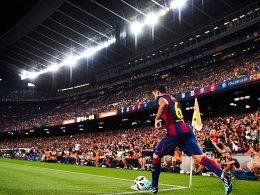 In der Champions League eine feste Institution: Xavi.