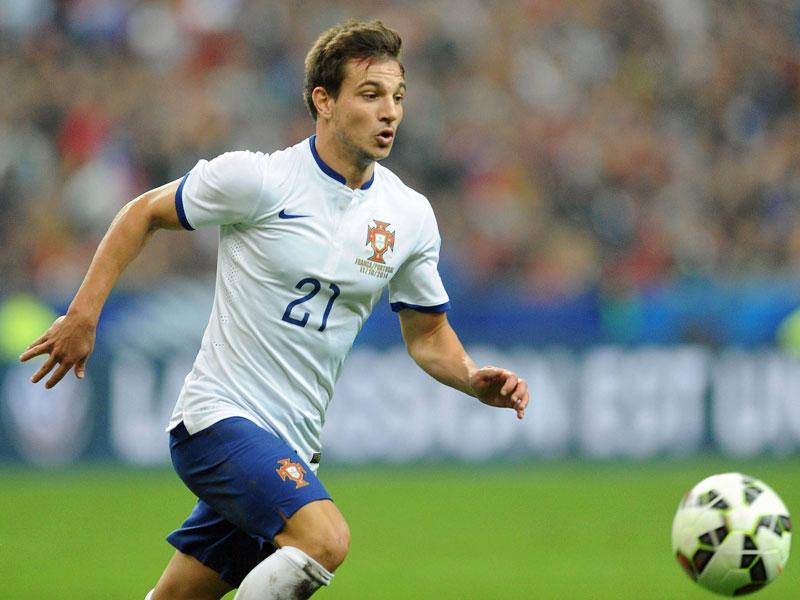 Cedric bei seinem Länderspieldebüt gegen Frankreich.