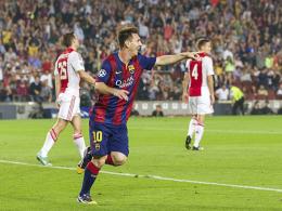 Nummer 69: Lionel Messi fehlen nur noch zwei Tore zum Champions-League-Rekord von Raul (71 Tore).