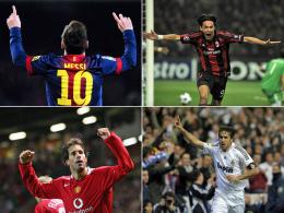 Messi, Inzaghi, van Nistelrooy, Raul und Co.: Die Topst�rmer der Champions League.
