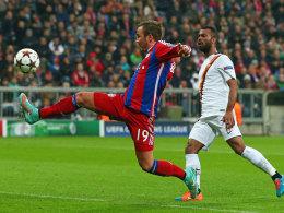 Lupfer zum 2:0: Mario Götze gefühlvoll.