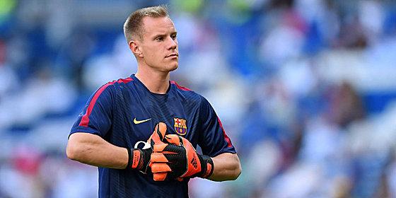 """""""Manchmal muss man sich auch in Geduld �ben"""": Marc-Andr� ter Stegen glaubt an seine Chance im Tor des FC Barcelona."""