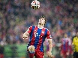 Die Hoffnung tr�gt Maske: Lewandowski