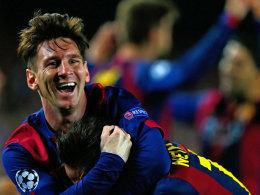 Gegen ihn war kein Kraut gewachsen: Auch Manuel Neuer konnte Lionel Messi nicht stoppen.