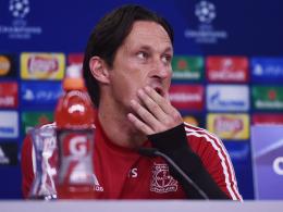 Erwartet den Gegner aus Weißrussland konterstark: Leverkusens Coach Roger Schmidt.