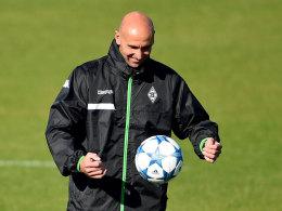 Geht mit großer Lust an die Aufgabe Champions League: Gladbach-Coach Andre Schubert.