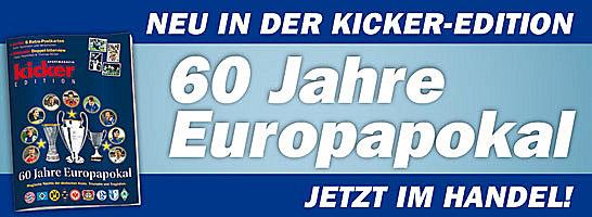 60 Jahre Europapokal - jetzt im Handel und online bestellbar.