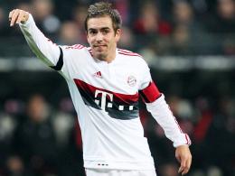 """""""Arsenal ist eine super Mannschaft"""": Bayern Münchens Kapitän Philipp Lahm."""