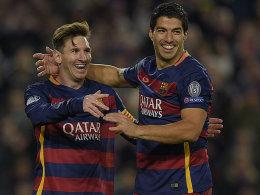 Messi, Suarez, Neymar:
