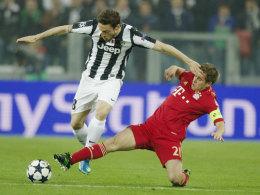 Claudio Marchisio gegen Philipp Lahm