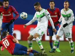 Wolfsburg in Gent ohne Sechs