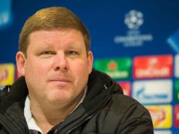 Keine Angst vor Wolfsburg: Gents Trainer Hein Vanhaezebrouck.