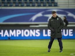 Wolfsburg-Trainer Dieter Hecking