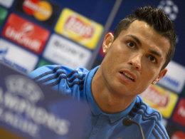 Cristiano Ronaldo am Dienstag in Rom