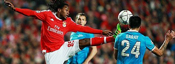 Benficas Renato Sanches gegen Zenits Ezequiel Garay