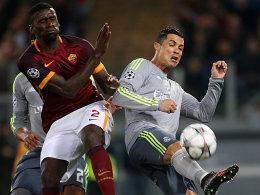 Antonio Rüdiger gegen Cristiano Ronaldo