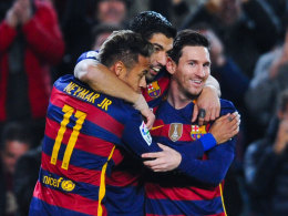 Neymar, Suarez und Messi