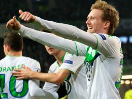Weltmeister im Wolfspelz: André Schürrle besorgte das 1:0 für den VfL.