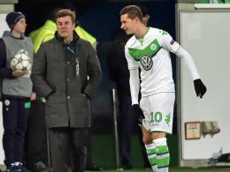Wolfsburgs Julian Draxler hielt bis zur 78. Minute durch