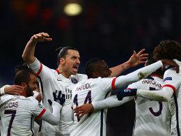 Benfica bezwingt Zenit - Paris am Ziel