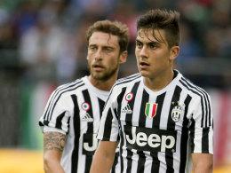 Paulo Dybala und Claudio Marchisio